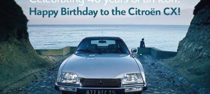 Celebramos los 40 años del Citroën CX con una persecución genial