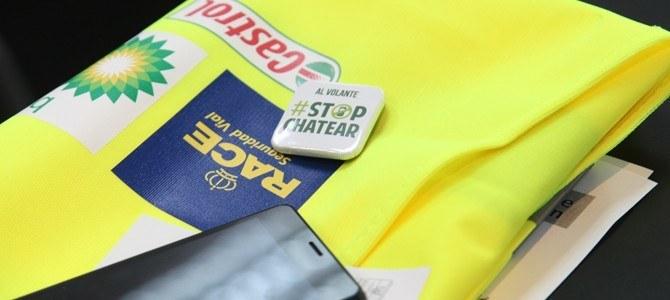 Campaña #StopChatear sobre el riesgo de usar el móvil al volante