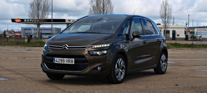 Probamos el nuevo Citroën C4 Picasso: espacio y confort