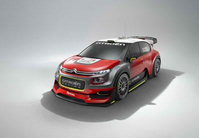 CONCEPT C3 WRC: ARRANCAN LOS MOTORES
