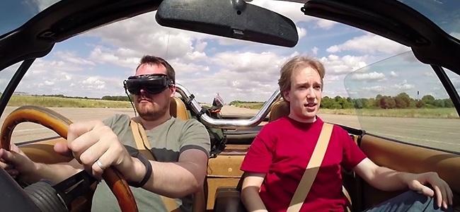 Del videojuego a la realidad: conducir en tercera persona gracias a un dron