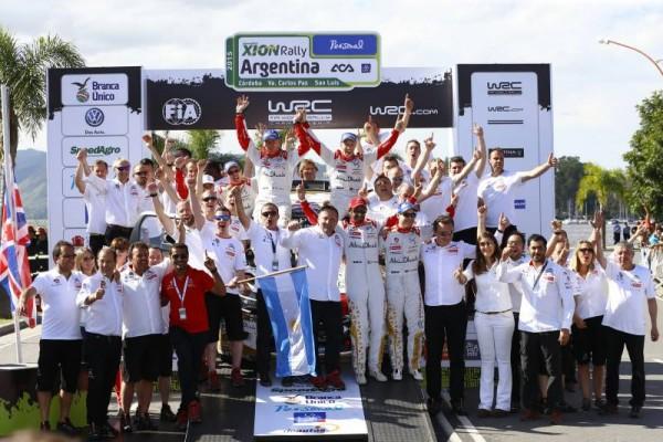 ¡DOBLETE DE LOS DS 3 WRC EN ARGENTINA!