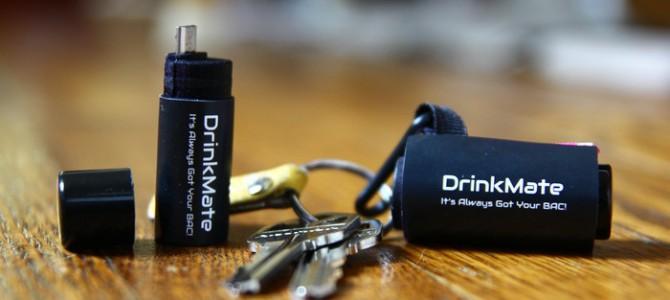 DrinkMate: el alcoholímetro de bolsillo más pequeño del mundo