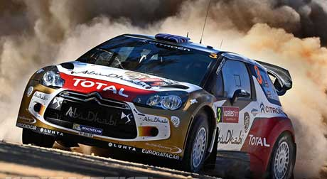 EL CITROËN TOTAL ABU DHABI WORLD RALLY TEAM CONSOLIDA SU SEGUNDA POSICIÓN
