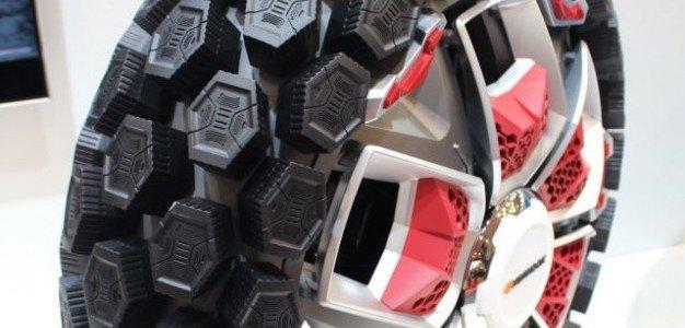 Go Go Gadget Tires: el neumático que se adapta inteligentemente a cada terreno