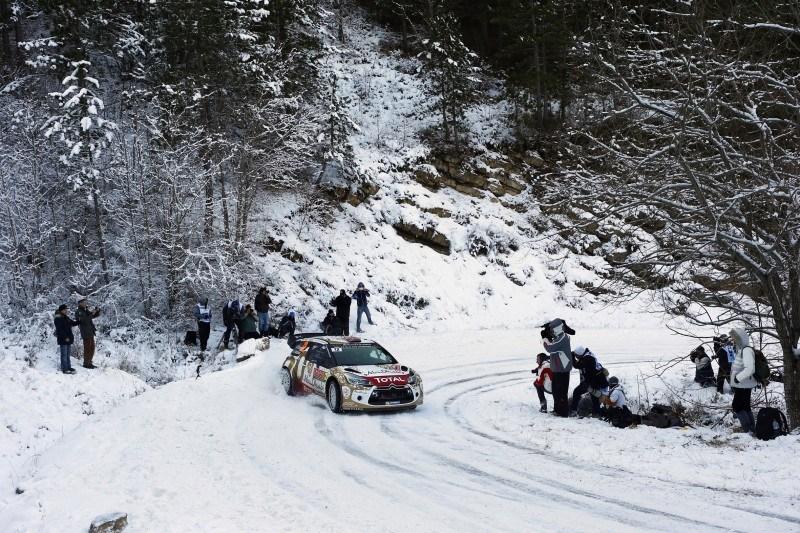 NIEVE Y HIELO PARA LOS DS 3 WRC