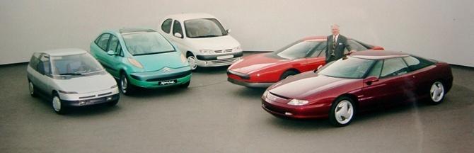 Todos los prototipos desarrollados por Citroën a lo largo de su historia