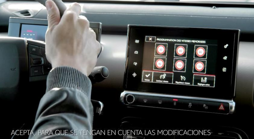 Citroën - C4 Cactus - Regulador de velocidad