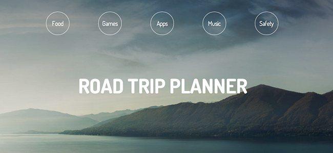 Road Trip Planner: la web para que todo sea más fácil