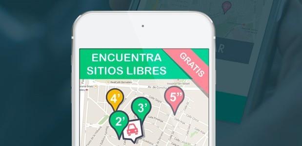Wazypark, la app colaborativa para encontrar aparcamiento gratuito en la ciudad