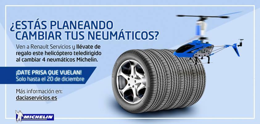 Cambiar tus neumáticos