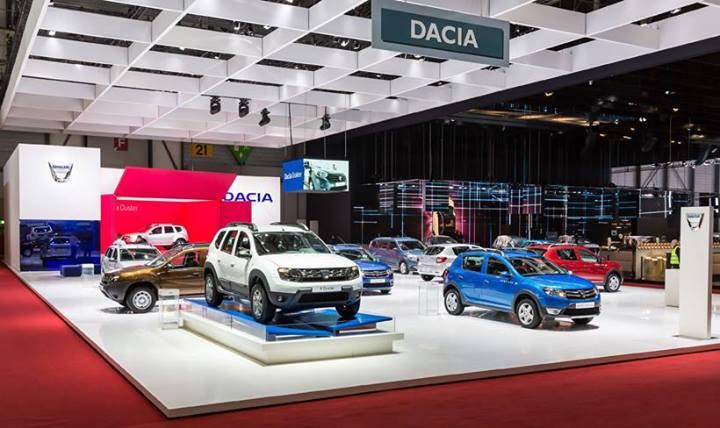 Dacia en el Salón de Ginebra 2014