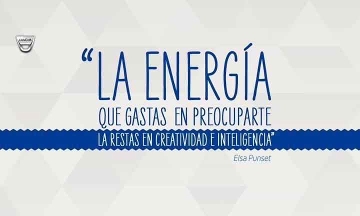 ¡En Dacia sabemos que te gusta gastar tu energía y tu dinero de manera inteligente!