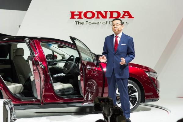 El Clarity Fuel Cell y las novedades Honda en Tokio 2015
