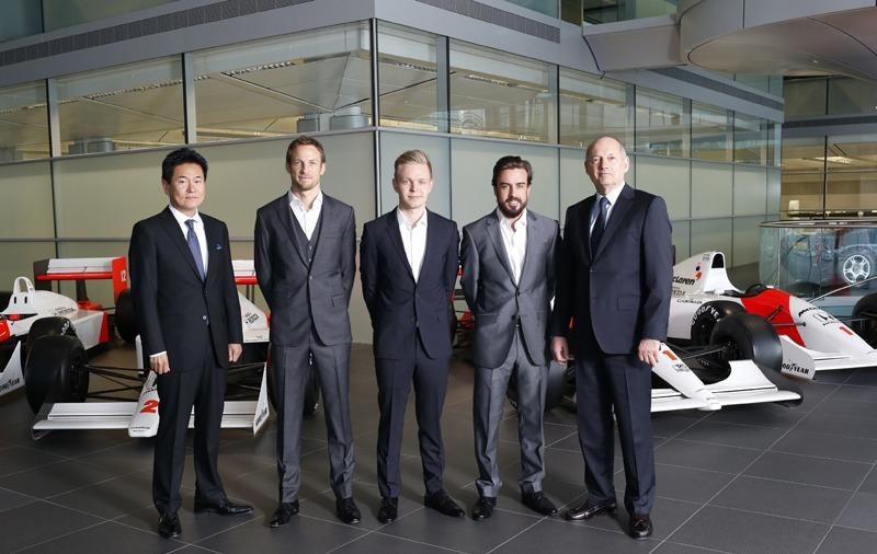 Fernando Alonso pilotará el McLaren–Honda en 2015