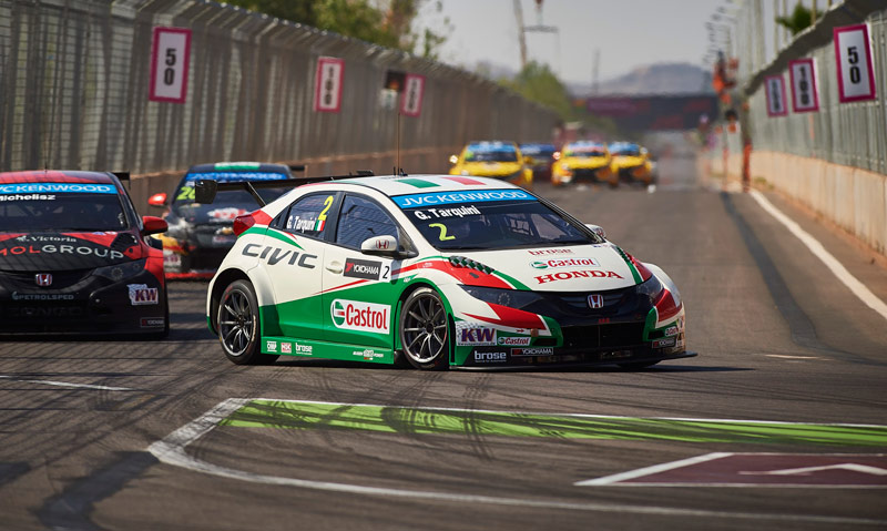 WTCC de Marrakech: Honda opta por una estrategia cauta para sumar puntos