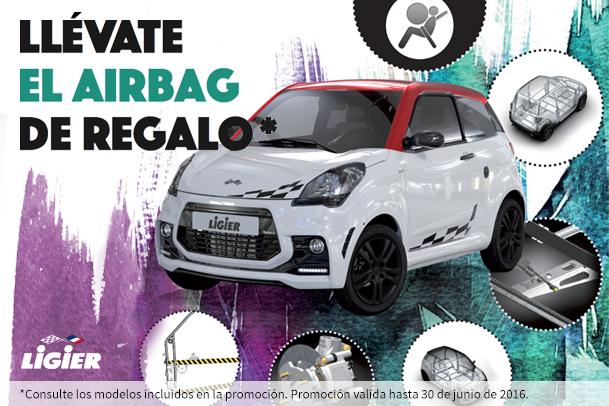 Llévate el airbag de regalo con Ligier