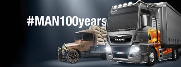 ¡Feliz aniversario, MAN Truck & Bus! 100 años de camiones y autobuses MAN