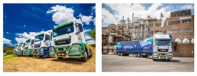 60 MAN, potentes y poco contaminantes, para las carreteras sudafricanas