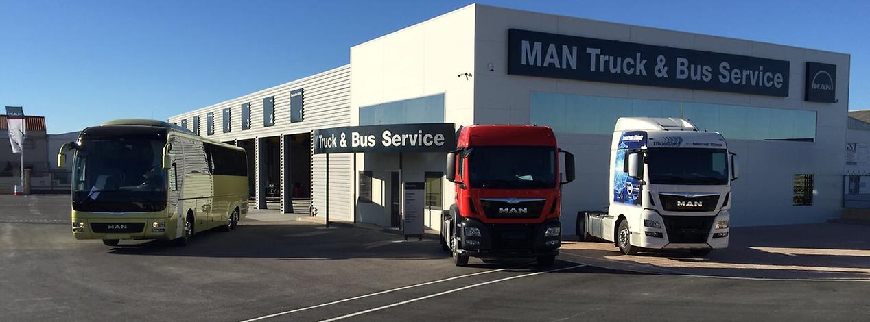 MAN amplía su cobertura de servicio en Almería con la apertura de un MAN Truck & Bus Service en Antas