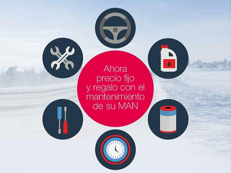 MAN ayuda a sus clientes a afrontar la llegada del frío con cuatro campañas en su red oficial