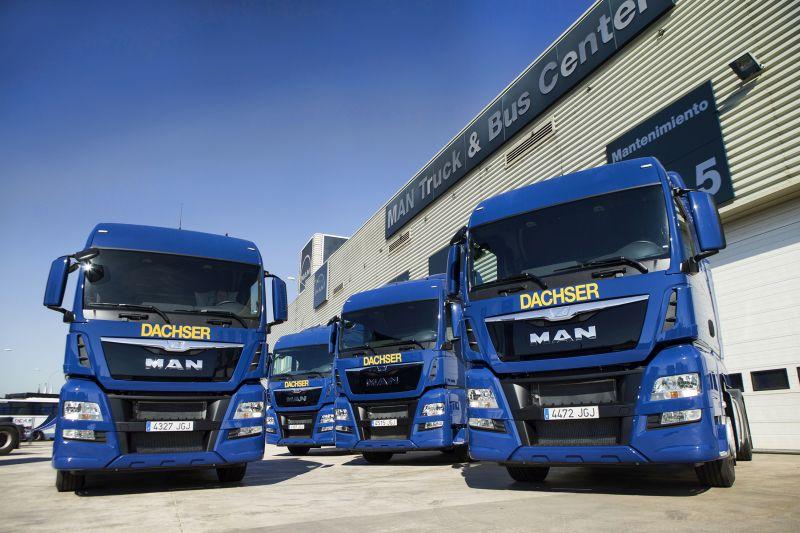 MAN repite como proveedor único de camiones para la logística de La Vuelta 2015