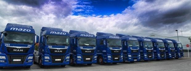 El Grupo Mazo renueva su confianza en MAN para ampliar su flota de vehículos pesados
