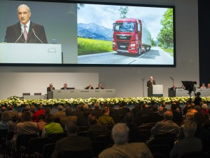 Asamblea General anual de 2015: MAN confía en la recuperación del mercado de vehículos industriales en Europa