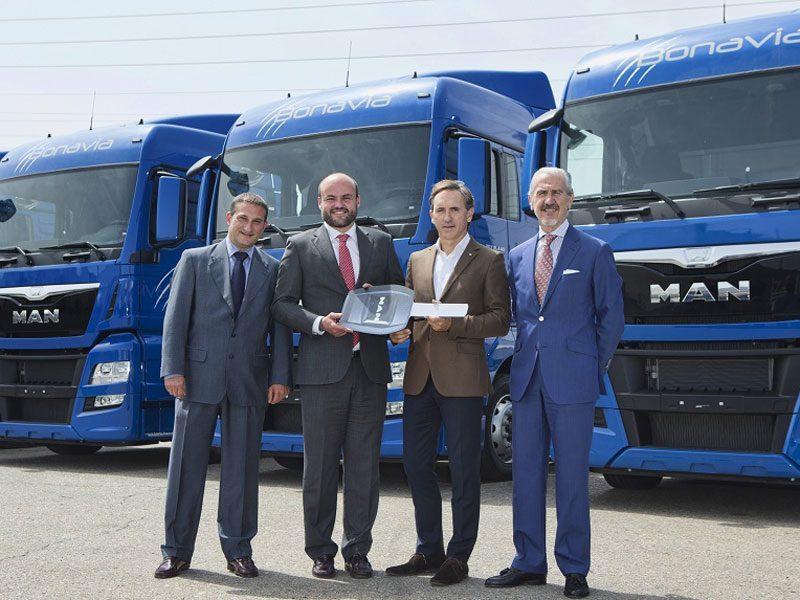 MAN Truck & Bus Iberia entrega 11 unidades de un pedido total de 30 al Grupo Sesé
