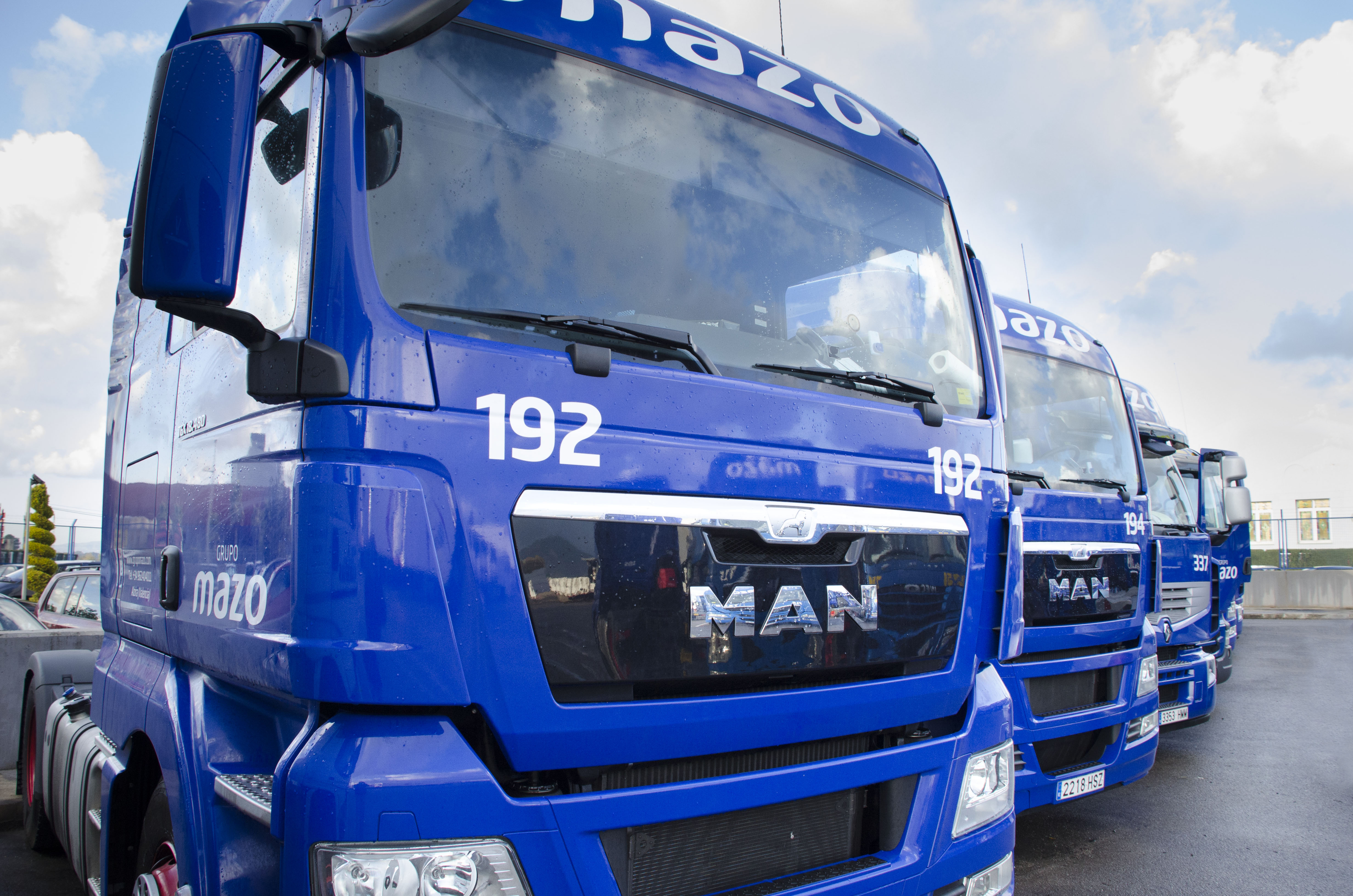 Transportes Mazo adquiere un total de 72 tractoras MAN TGX EfficientLine a lo largo de 2013