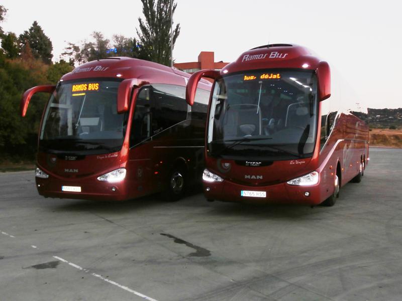 Ramos Bus renueva su confianza en MAN adquiriendo dos nuevas unidades