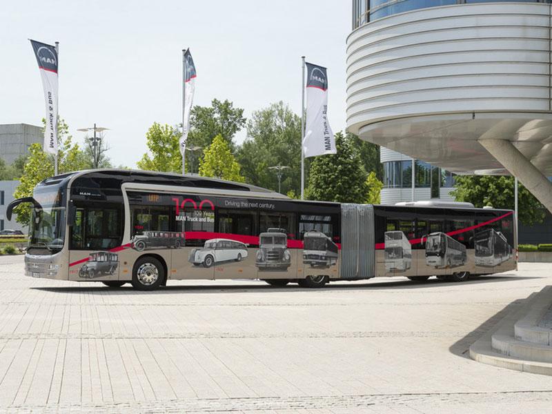 Soluciones sostenibles de MAN para la movilidad en la ciudad