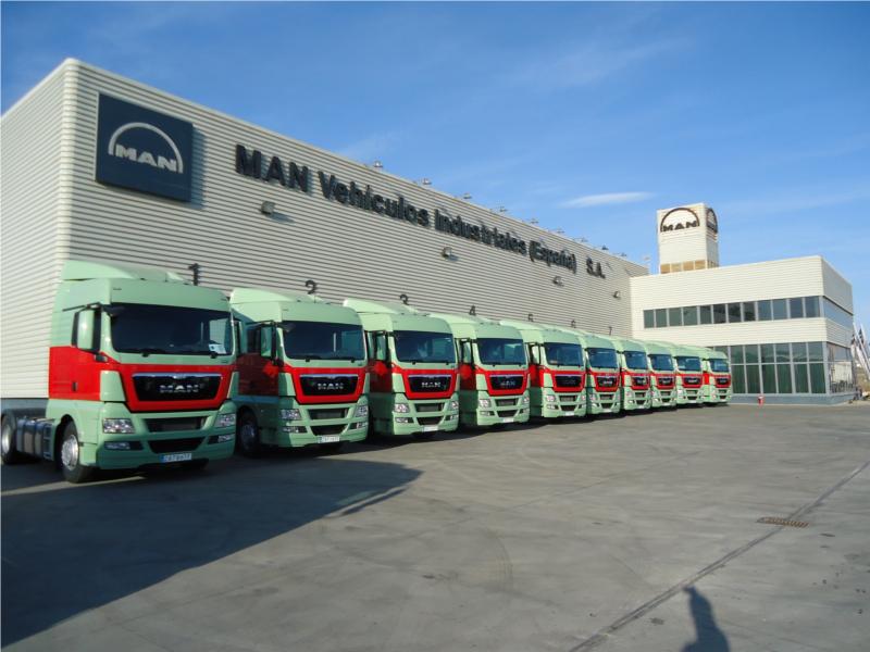 Transportes Belzunces incorpora a su flota las 10 primeras tractoras MAN TGX EfficientLine