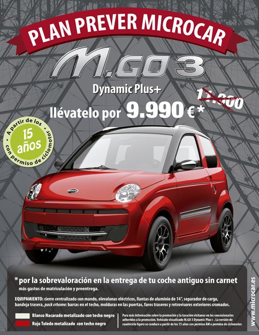 Plan PREVER Microcar.