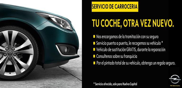Diso Huelva, Concesionario Oficial OPEL en la provincia de Huelva