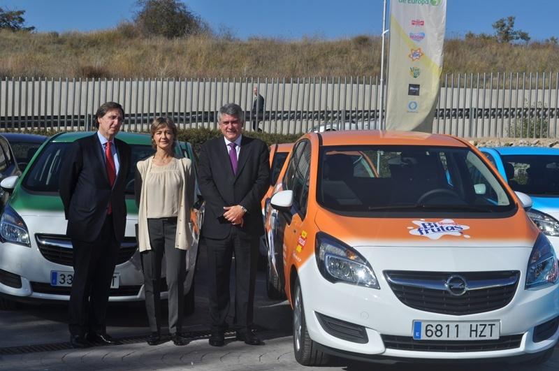 Calidad Pascual presenta la mayor flota sostenible de Europa formada por los vehículos Opel más eficientes