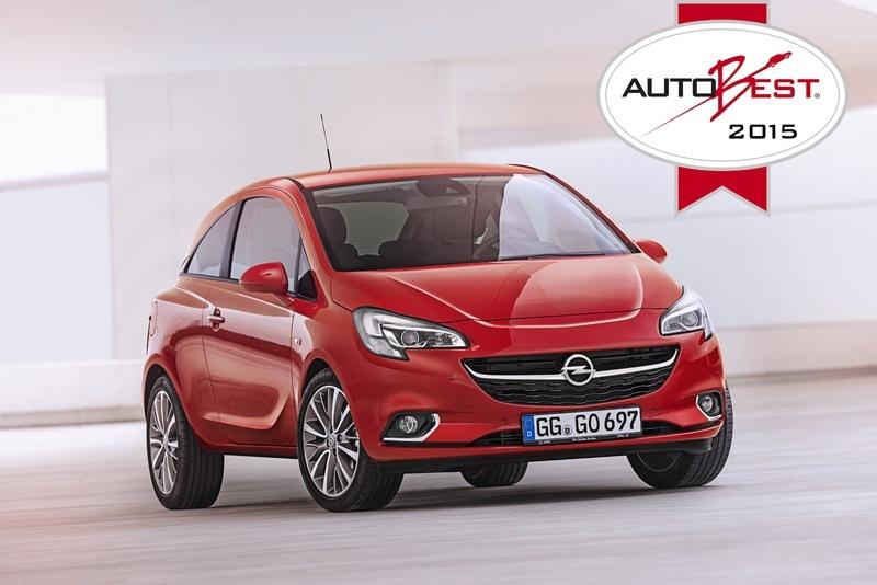 El Opel Corsa gana el prestigioso premio AUTOBEST 2015
