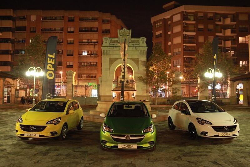El nuevo Opel Corsa hace su presentación nacional en Zaragoza