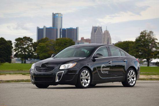 GM y Opel revelan una innovadora tecnología de conducción autónoma