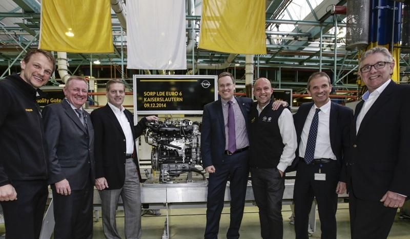 Comienza la producción de los motores diésel de alta tecnología para los Opel Insignia y Zafira Tourer