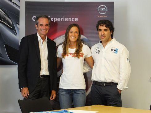 Julia Castro (kiteboard) se suma a la apuesta de Opel por el crowdfunding deportivo