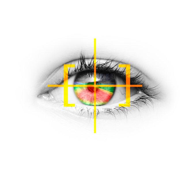 Luz guiada: nueva tecnología de seguimiento ocular de Opel