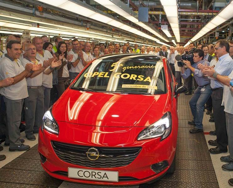 La planta española de Opel comienza la producción en serie del nuevo Corsa