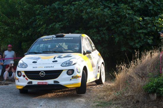 Nuevo triunfo para Vallín y el Opel ADAM R2 en el Rallye del Bierzo