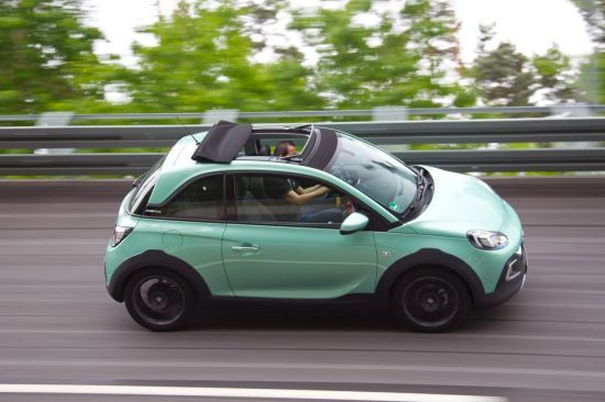 El nuevo Opel ADAM ROCKS está listo para rodar, empieza la aventura.