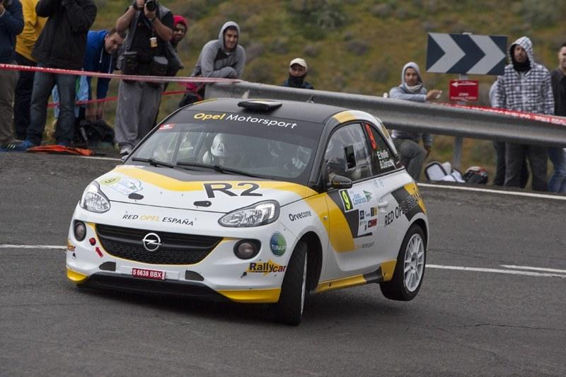 Opel alineará dos ADAM R2 en el Nacional de Rallyes 2015