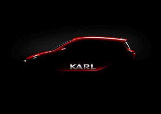 Un nuevo coche pequeño con un gran nombre: Opel presenta el Karl