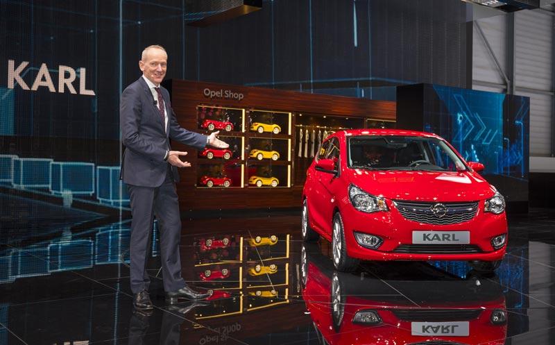Opel presenta OnStar y dos modelos entre las estrellas de los coches pequeños en el Salón del Automóvil de Ginebra