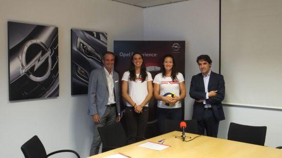 Opel refuerza su apuesta por el crowdfunding con su apoyo a la pareja de vóley playa formada por Liliana Fernández y Elsa Baquerizo