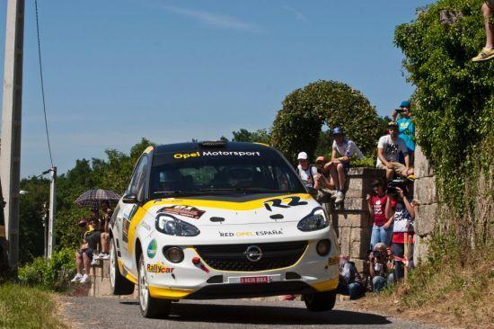 El Rallye del Bierzo próxima cita para el equipo Red Opel España